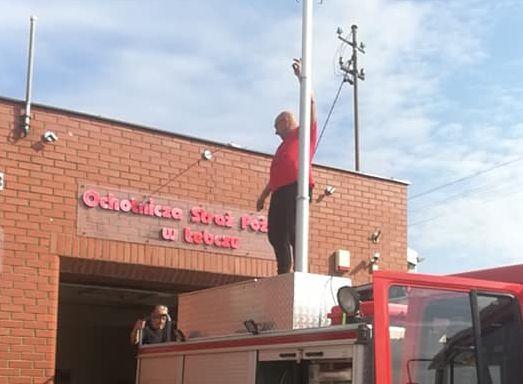 OSP Łebcz: pracowita sobota u strażaków z gminy Puck   ZDJĘCIA