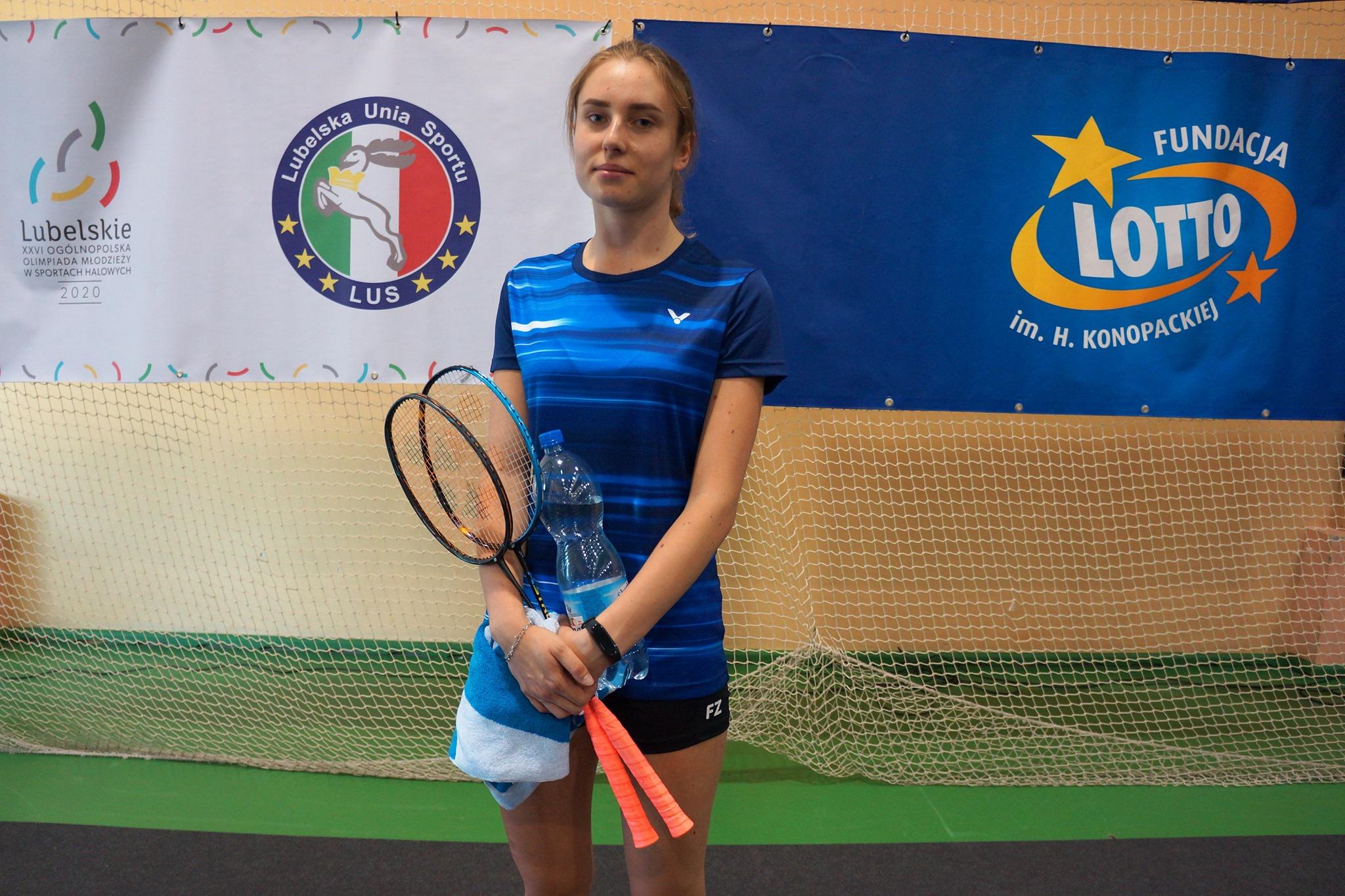 Marianna Konkel z UKS Bliza Władysławowo w reprezentacji Pomorza | ZDJĘCIA