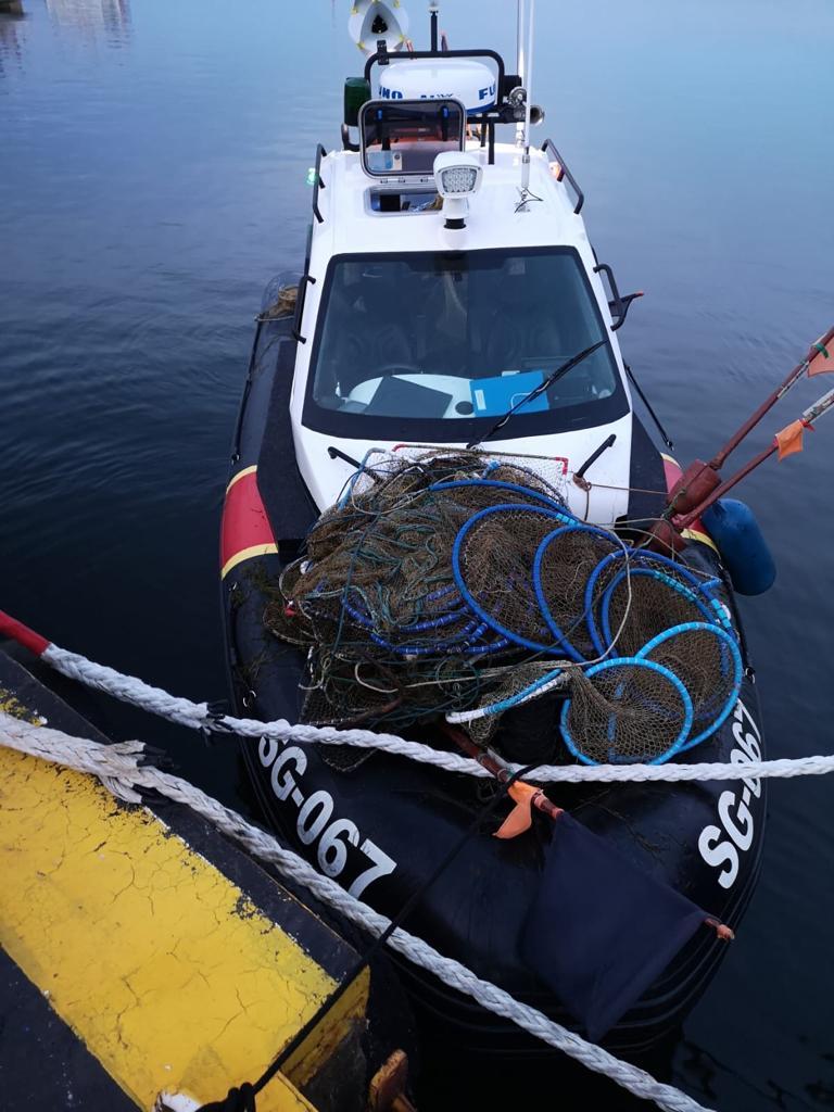 Z Zatoki Puckiej wyłowili pułapki na ryby