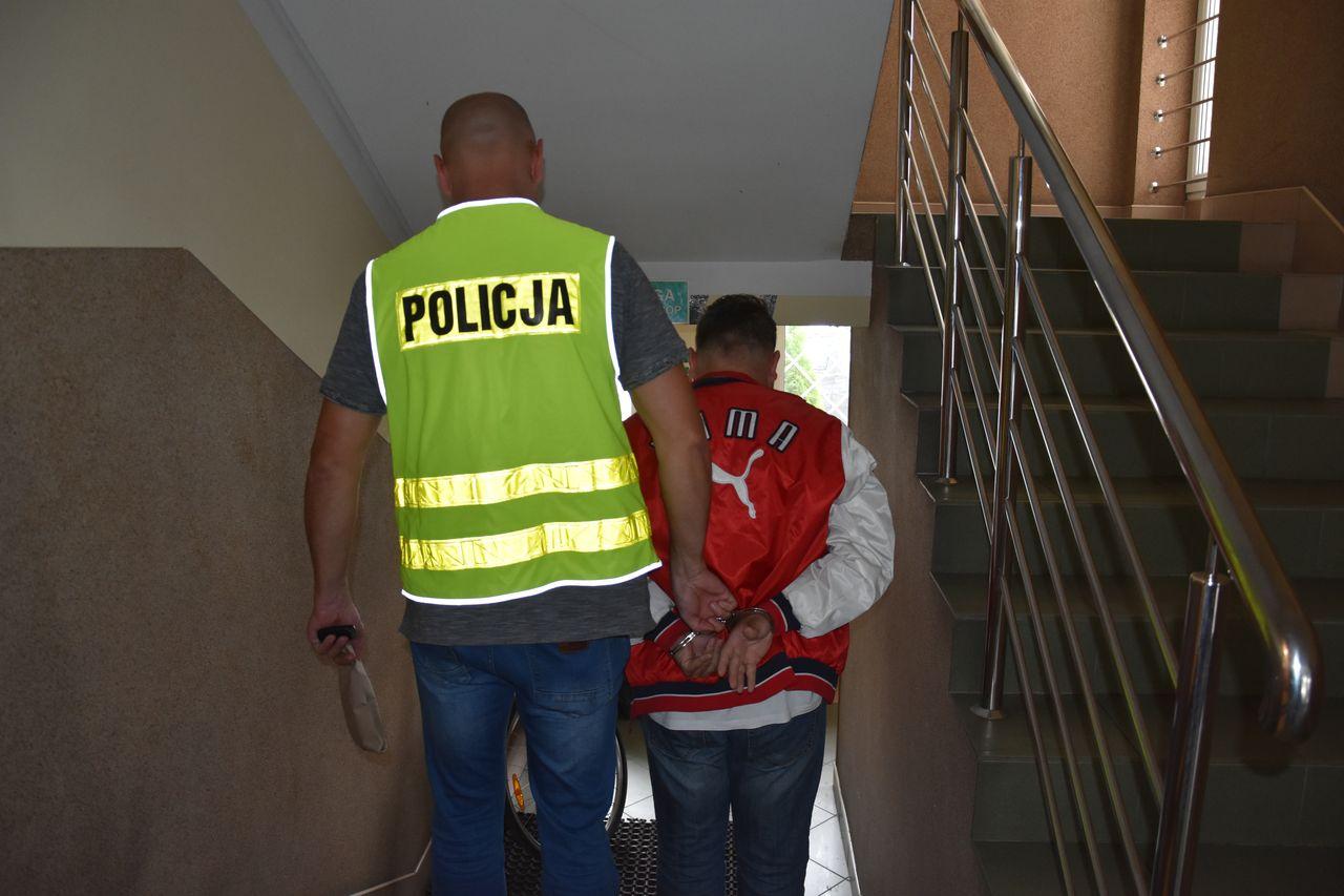 Pucka policja ujęła pedofila = fot. KPP Puck