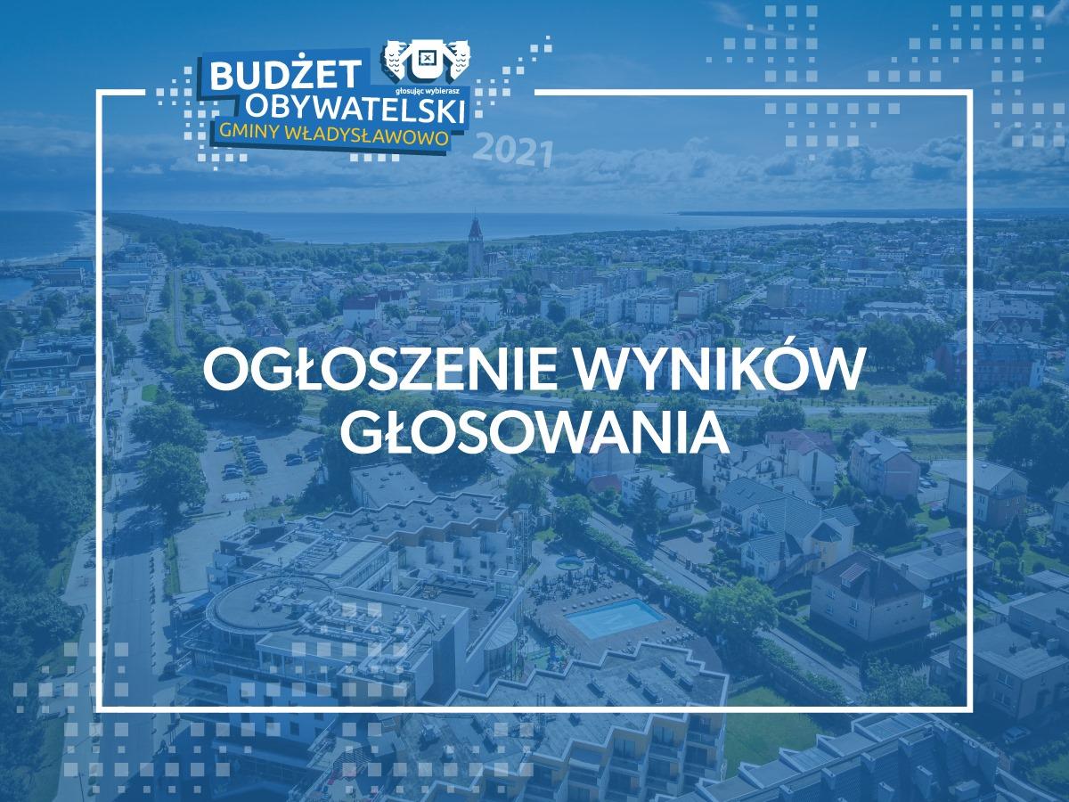 Budżet Obywatelski we Władysławowie (edycja 2020). W poniedziałek podsumują głosowanie