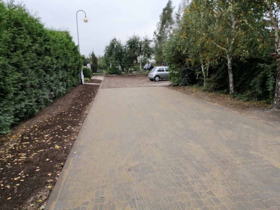 Suchy Dwór (gmina Kosakowo): po roku dokończyli ulicę Bahdaja | ZDJĘCIA