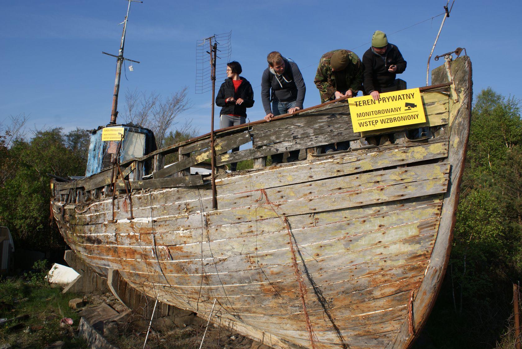 Hel: kuter rybacki WŁA-55. Zapomniany kawałek historii | ZDJĘCIA