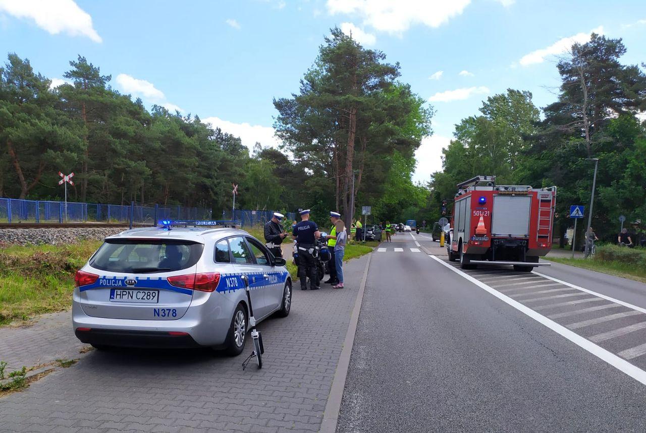 Chałupy: stłuczka 4 aut. Kraksę wywołała 23-latka z Torunia | NADMORSKA KRONIKA POLICYJNA