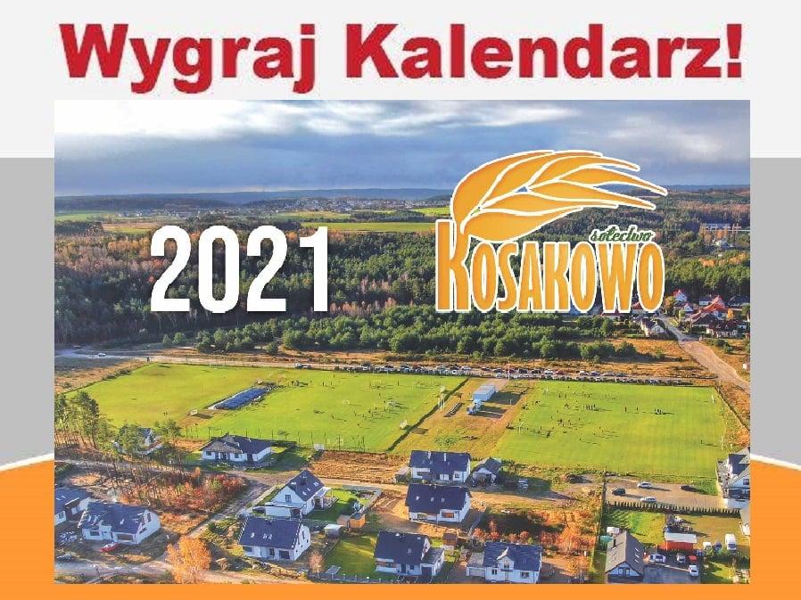 Sołectwo Kosakowo rozdaje swoje kalendarze 2021. Chcesz? To dostaniesz, ale musisz popisać się wiedzą