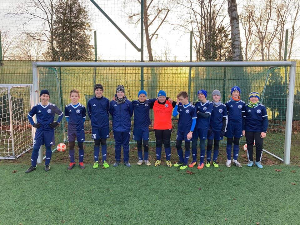 Młody Sztorm Kosakowo; Mecz z Salos Rumia i koniec treningów w 2020 roku. Teraz czas na przerwę | ZDJĘCIA