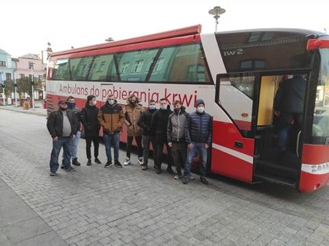Klub Honorowych Dawców Krwi w Pucku i zbiórka w styczniu 2021 | ZDJĘCIA