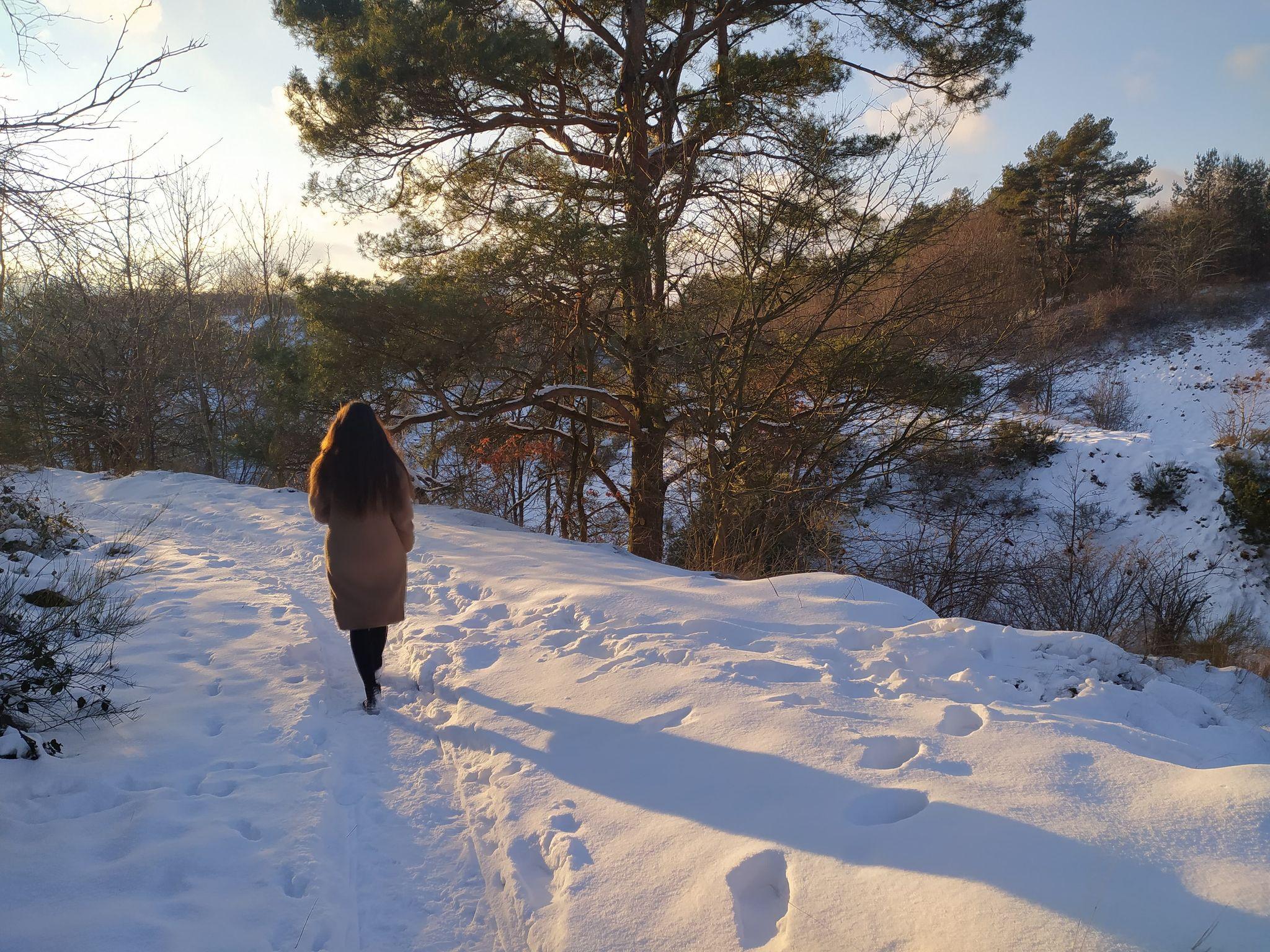 FOTO Powiat Pucki: Zima w Chłapowie. Wąwóz Rudnik i bałtycka plaża w śniegu | ZDJĘCIA