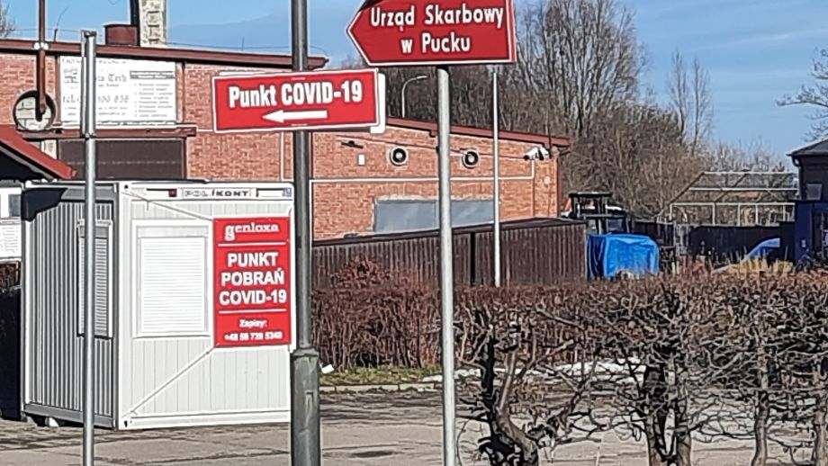 Punkt pobrań COVID-19, Puck, ul. 10 Lutego