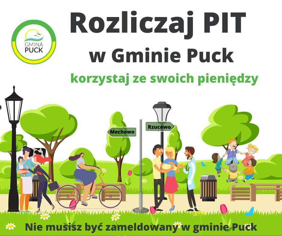 Rozliczaj PIT w gminie Puck – zaapelował wójt Tadeusz Puszkarczuk. Po co to zrobić i jak to zrobić?