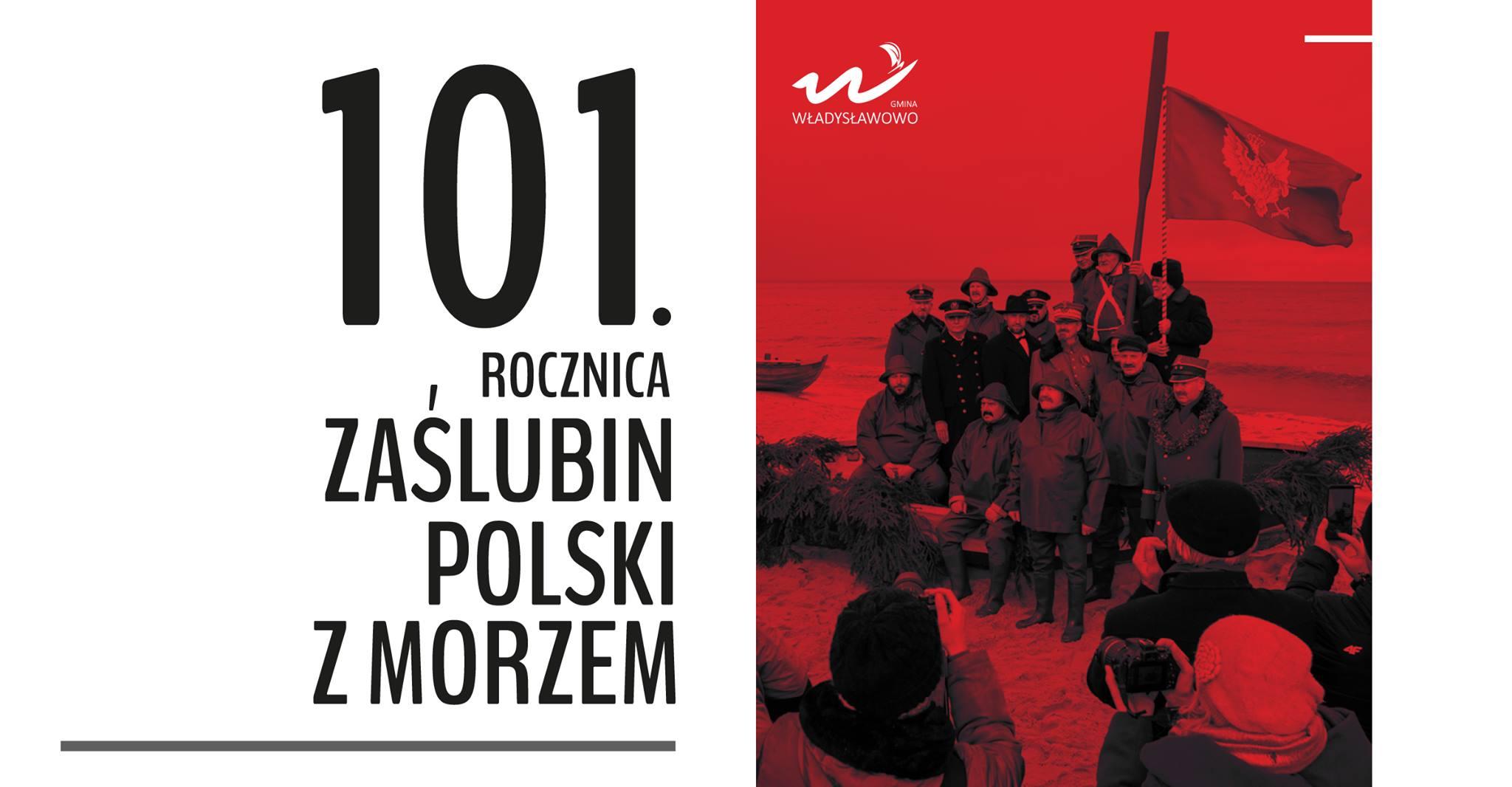 101. rocznica Zaślubin Polski z Morzem we Władysławowie. Obchody bez mieszkańców