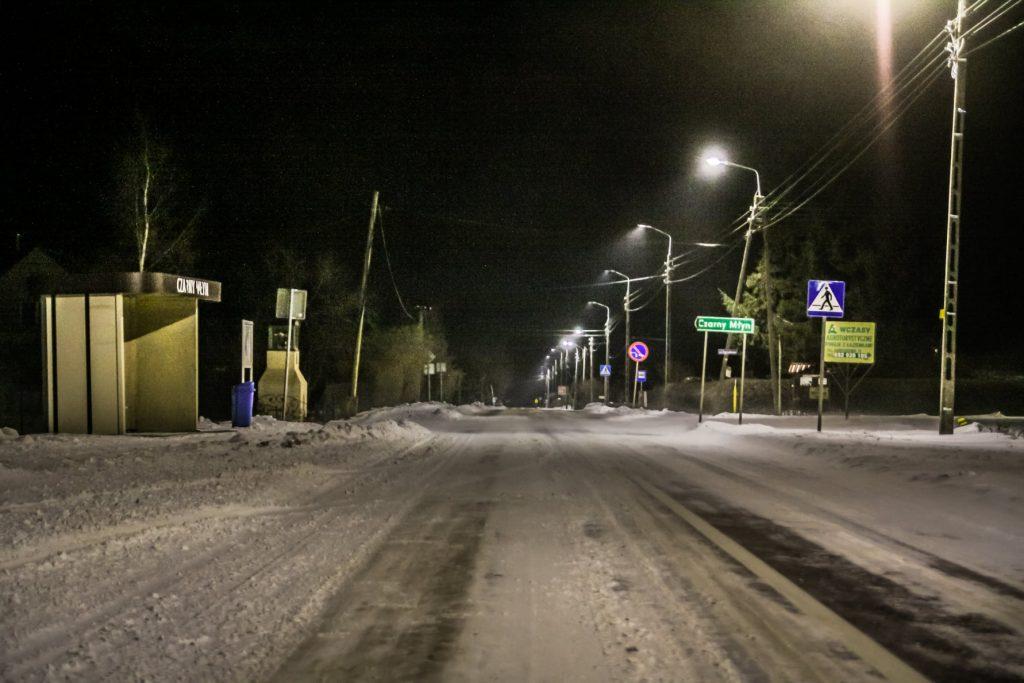 Sołectwo Mieroszyno, gmina Puck - droga na Czarny Młyn
