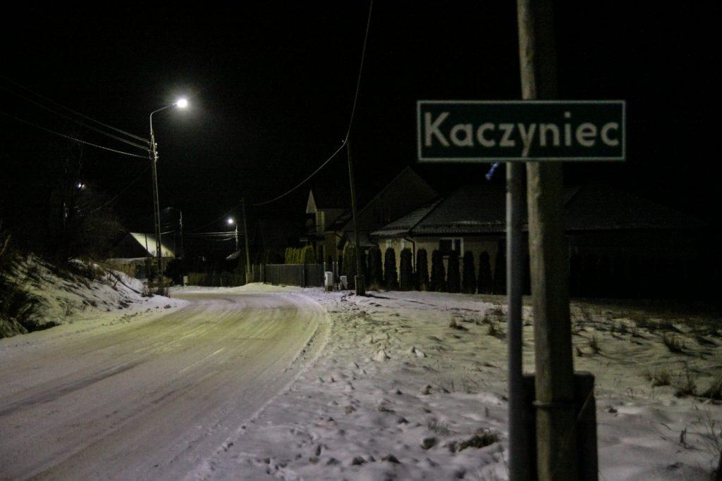 Sołectwo Mieroszyno, gmina Puck - Kaczyniec