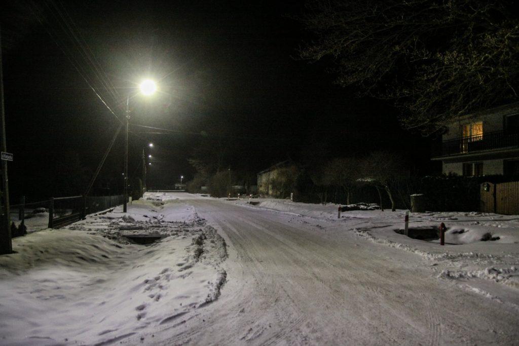 Sołectwo Mieroszyno, gmina Puck - zima 2021