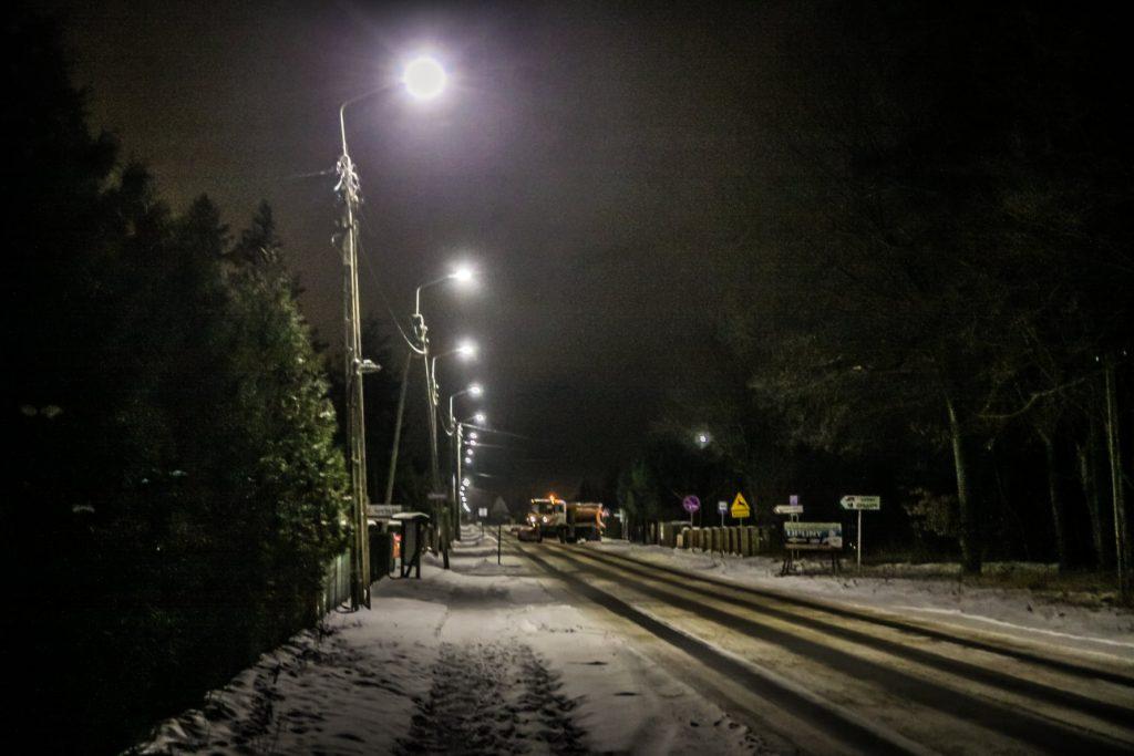 Sołectwo Mieroszyno, gmina Puck - odśnieżanie