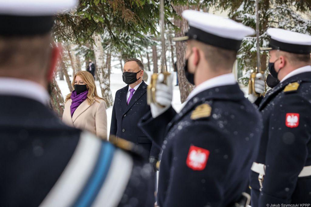 Prezydent Andrzej Duda w Helu - rezydencja Mierzeja Helska
