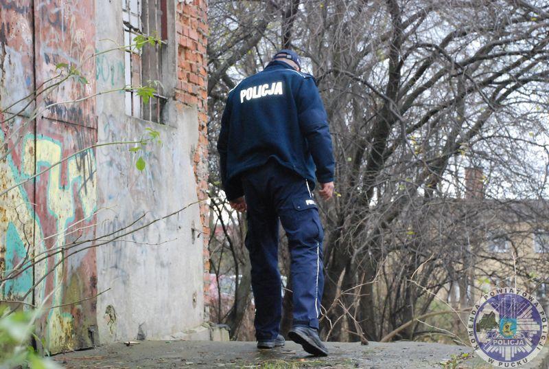 Nadmorska Kronika Policyjna: bezdomni w powiecie puckim, zima 2021