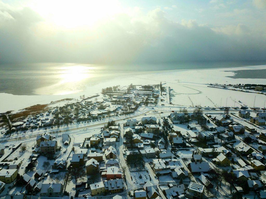 Zima 2021: Jastarnia z drona - port