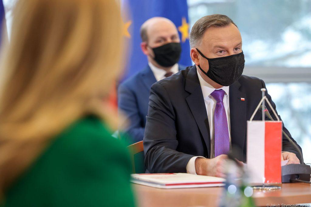 Prezydent Andrzej Duda w Helu luty