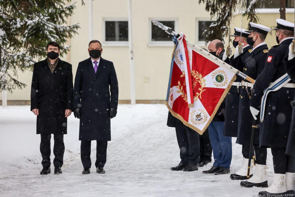 Prezydent Andrzej Duda w Helu - rezydencja kancelarii Hel