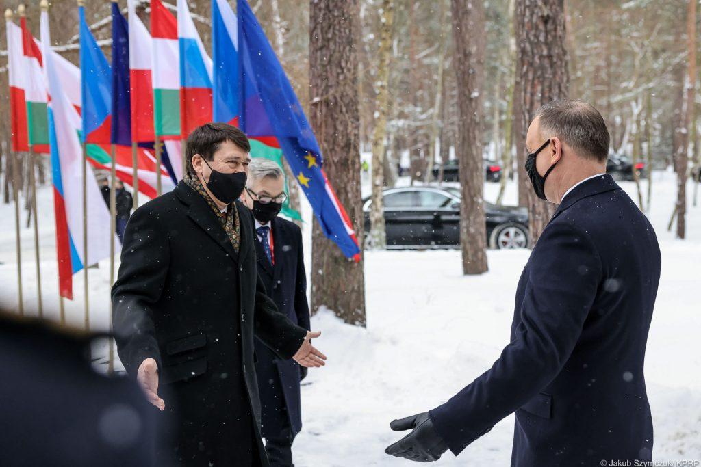 Prezydent Andrzej Duda w Helu - spotkanie luty 21