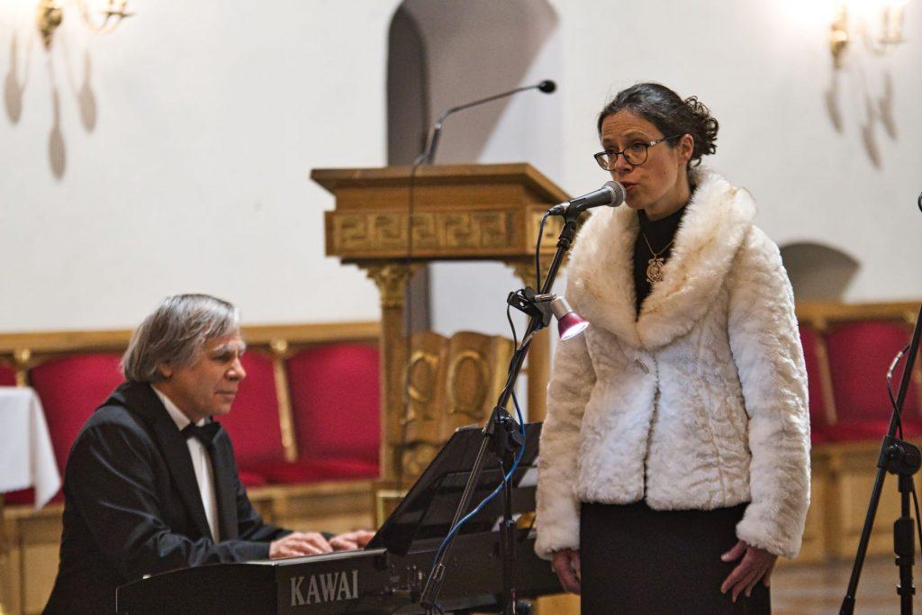 Zaślubiny Polski z Morzem - koncert w kościele w Pucku, artyści w farze