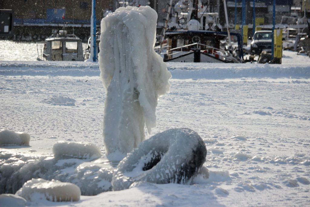 Zima we Władysławowie, luty 2021