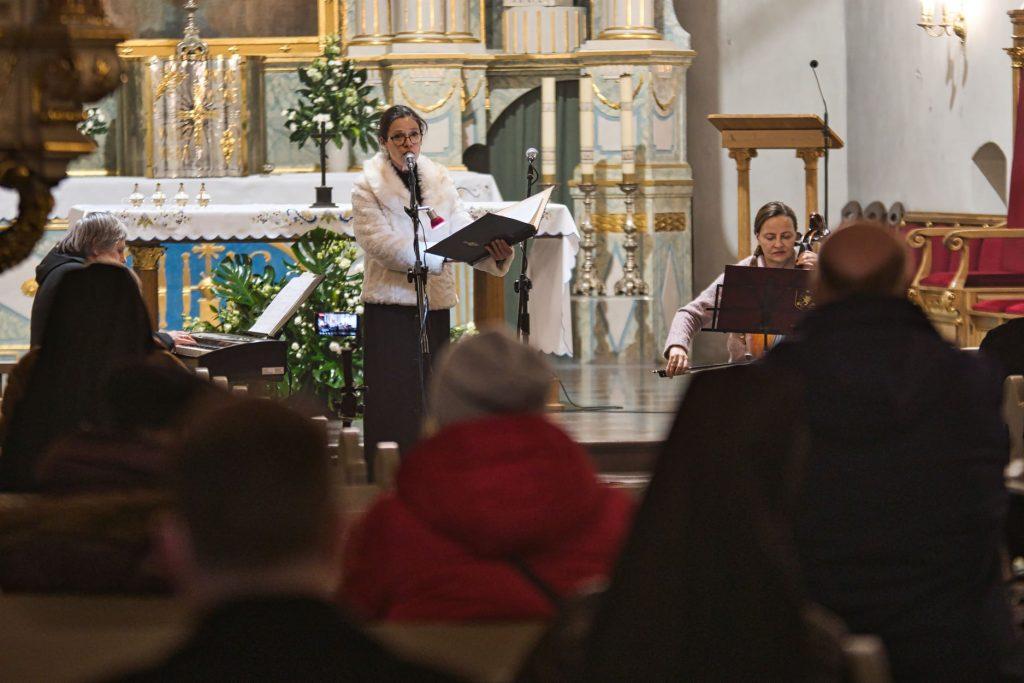 Zaślubiny Polski z Morzem - koncert w kościele w Pucku (nawa główna)