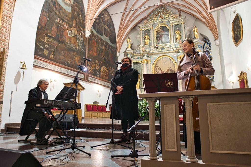 Zaślubiny Polski z Morzem - koncert w kościele w Pucku (fara)