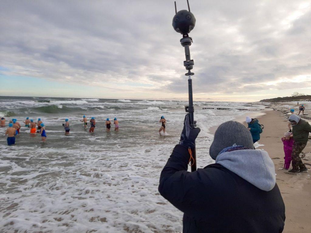 Nordowe Morsy, plaża Władysławowo - film 360