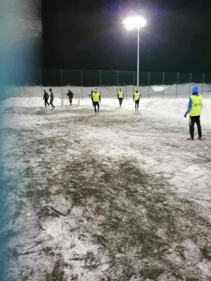 Arka Prusewo, zima 2021