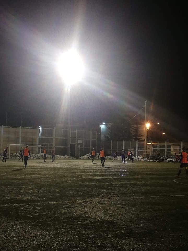 Sztorm Kosakowo - zima 2021, trening