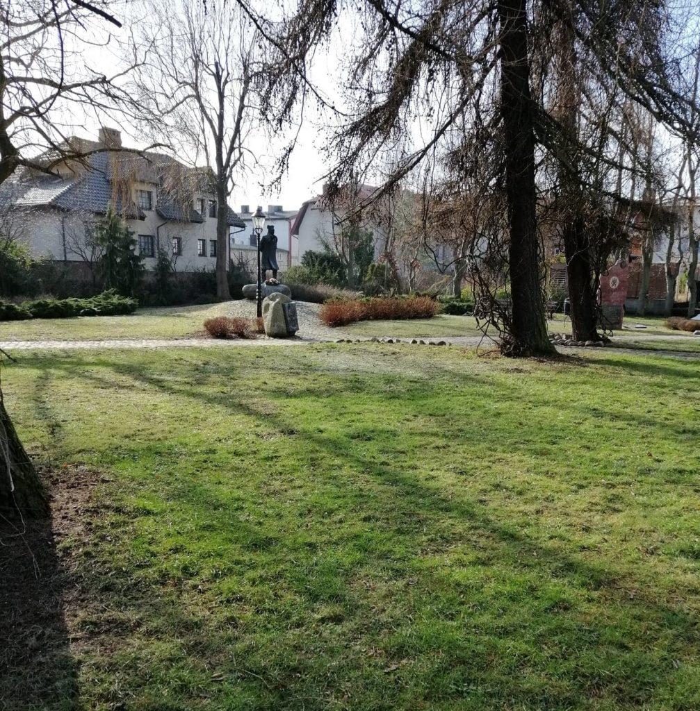 Fontanna w Pucku, Park Kaszubski
