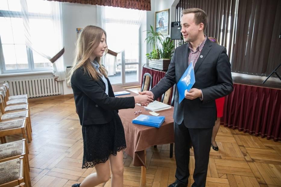 Stypendia Burmistrza Władysławowa - 2015