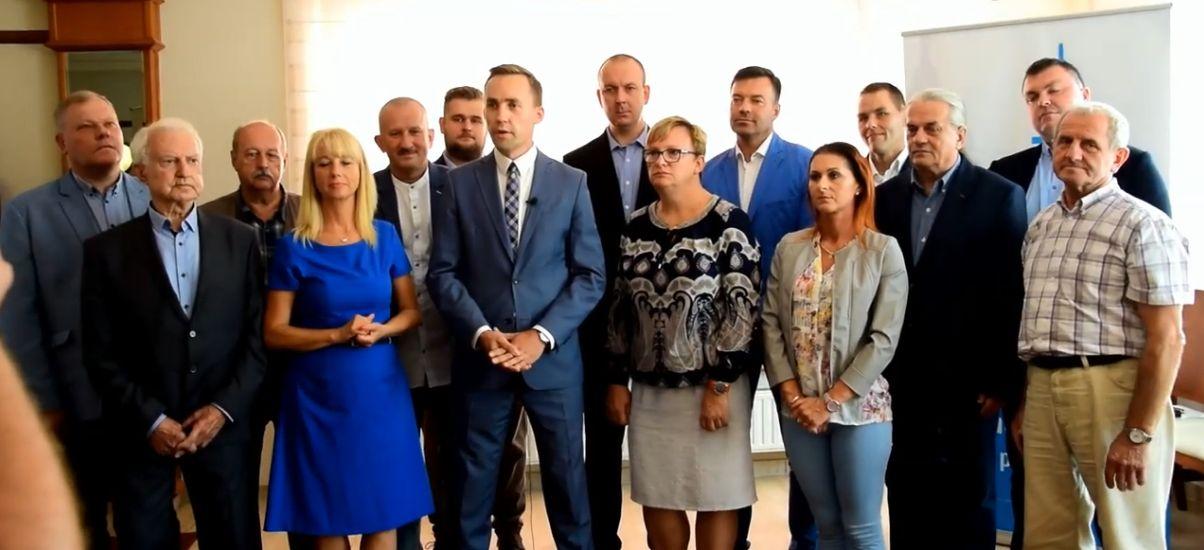 Roman Kużel, komitet razem Odpowiedzialnie - Władysławowo