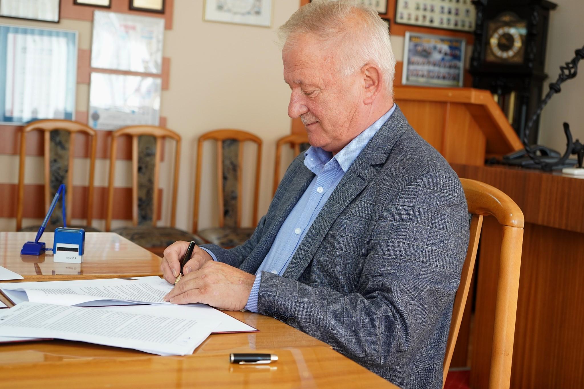 Wójt Tadeusz Puszkarczuk, gmina Puck