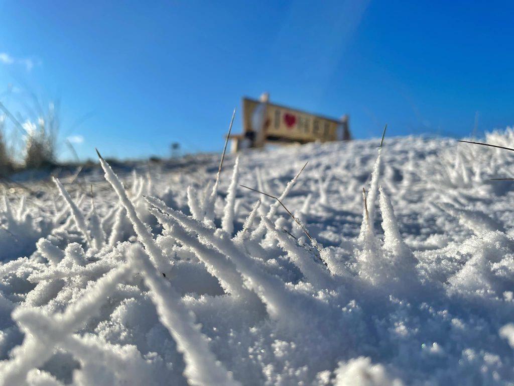 Hel - Góra Szwedów, zima 2021
