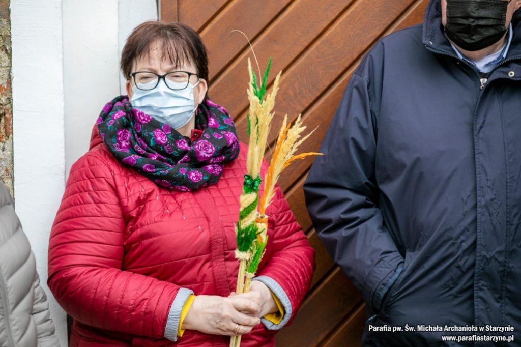 Niedziela Palmowa Starzyno Wielkanoc 2021 gmina Puck
