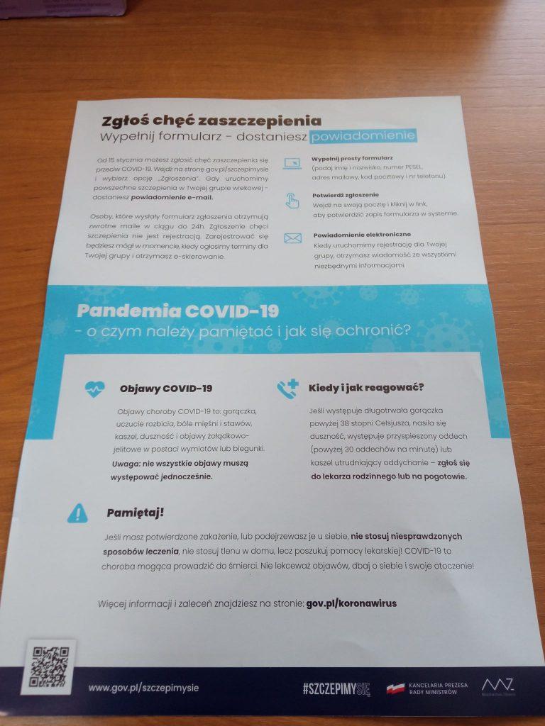 OSP Gnieżdżewo koronawirus gmina Puck