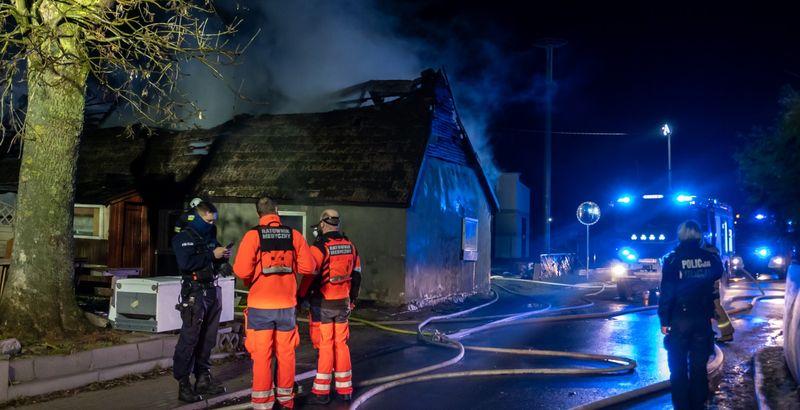 pożar mosty gmina kosakowo