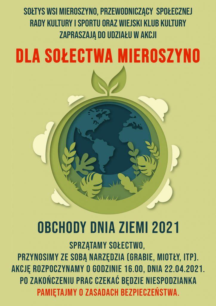 dzien ziemi mieroszyno 2021