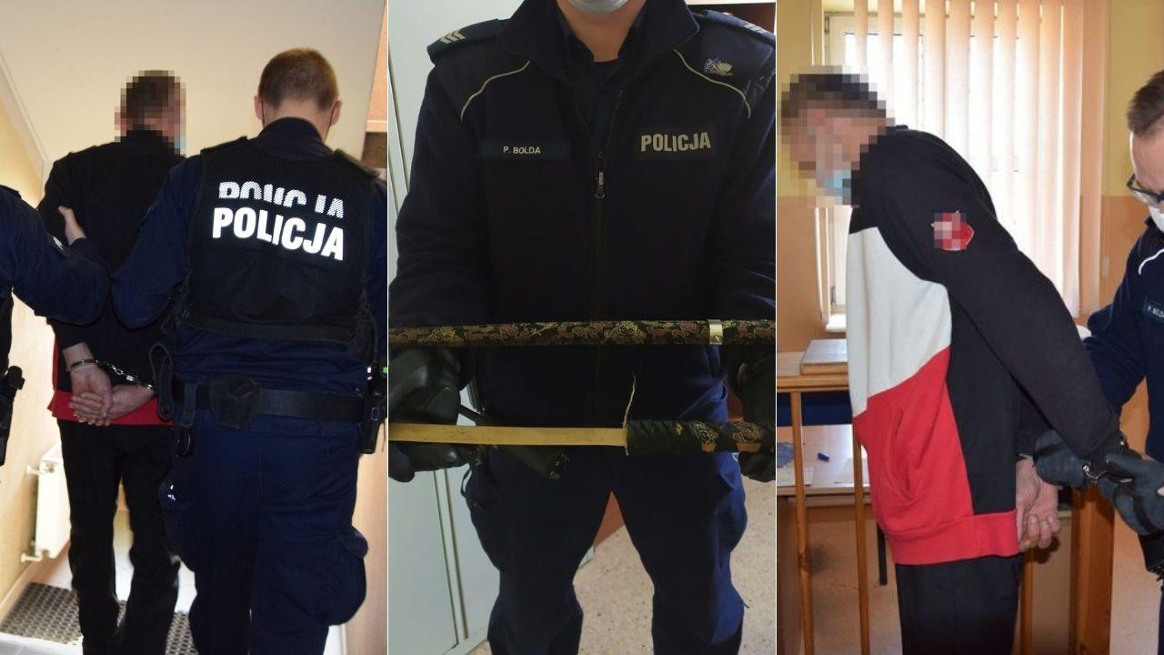 Władysławowo: samurajskim mieczem zaatakował ratowników medycznych. Finał w sądzie | ZDJĘCIA