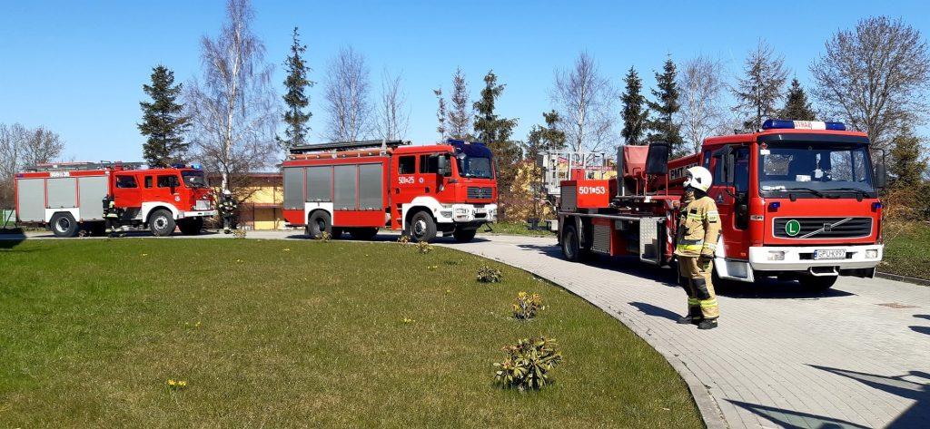 pożar puck parafia faustyna