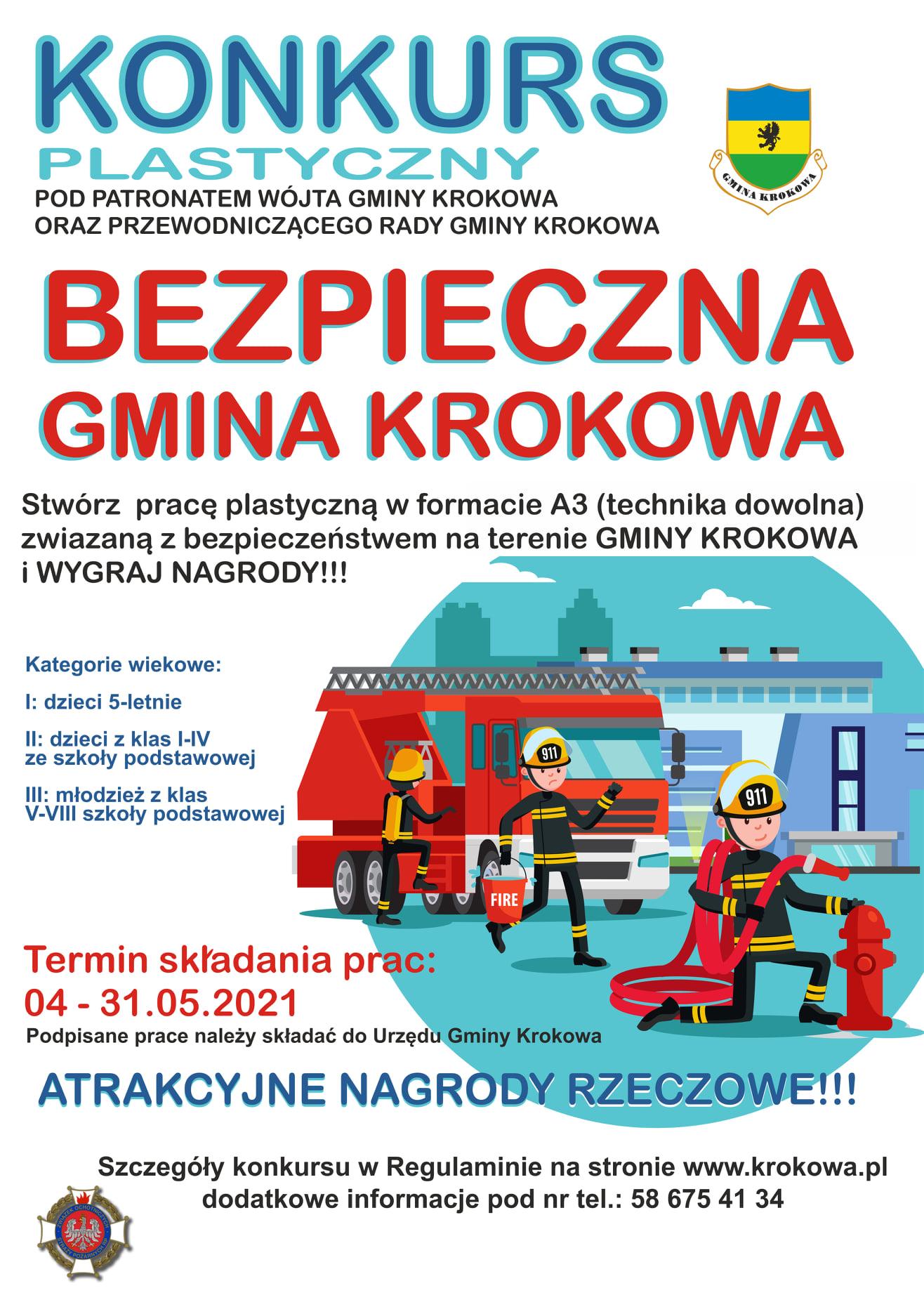Gmina Krokowa konkurs bezpieczeństwo
