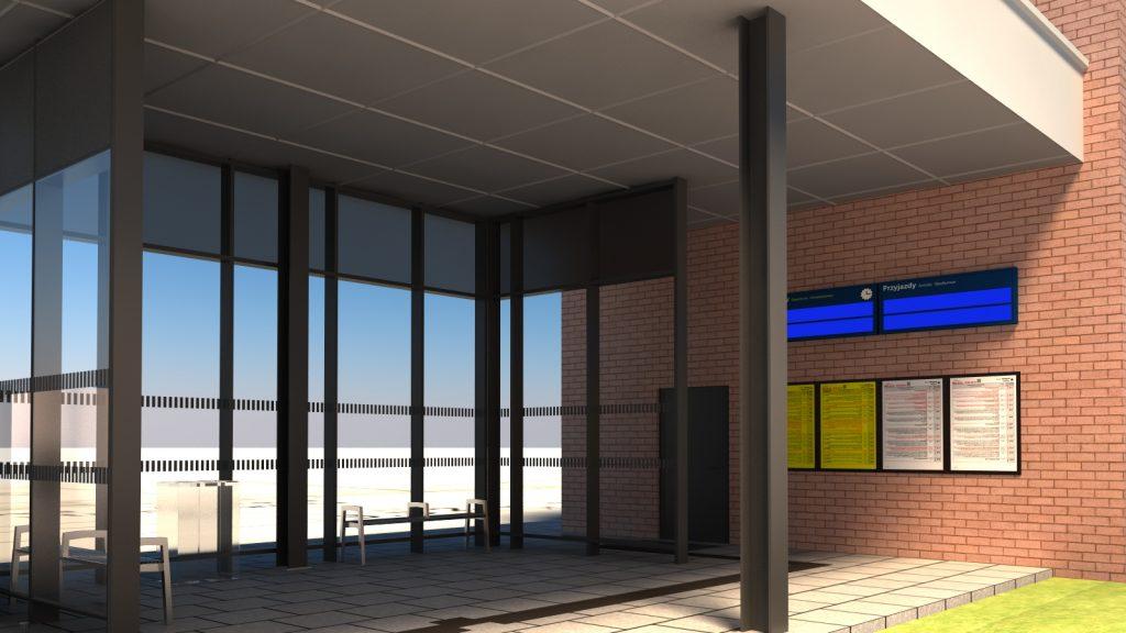 Żelistrzewo nowy dworzec PKP