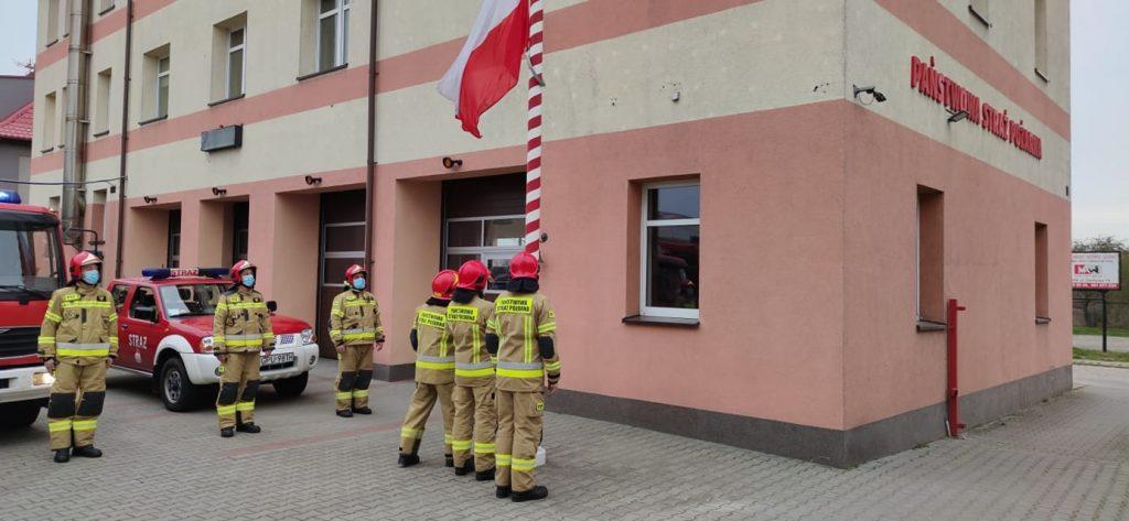 dzień flagi straż puck kp psp