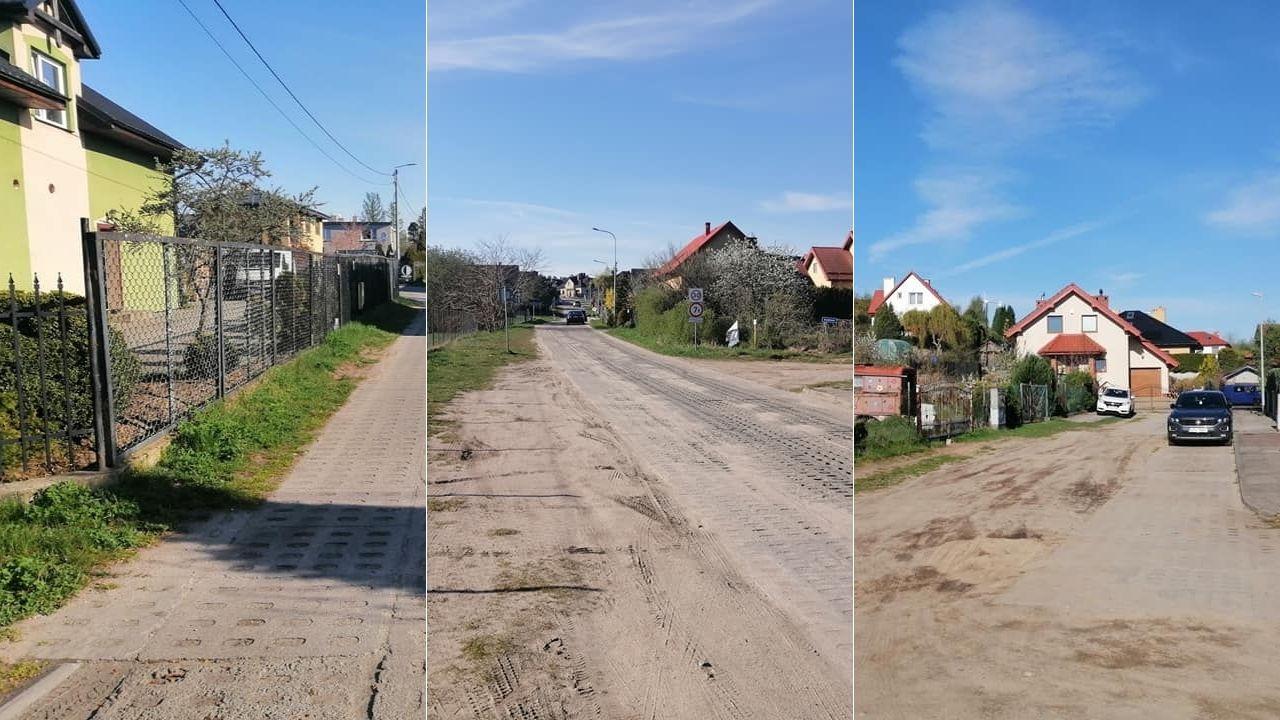 Nowe drogi w Kosakowie, Rewie, Dębogórzu. Gmina szuka firmy, która zrobi ulice: Goździkową, Jachtową, Bratkową, Piaskową   ZDJĘCIA