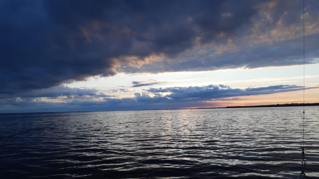 jastarnia zachód słońca maj 2021