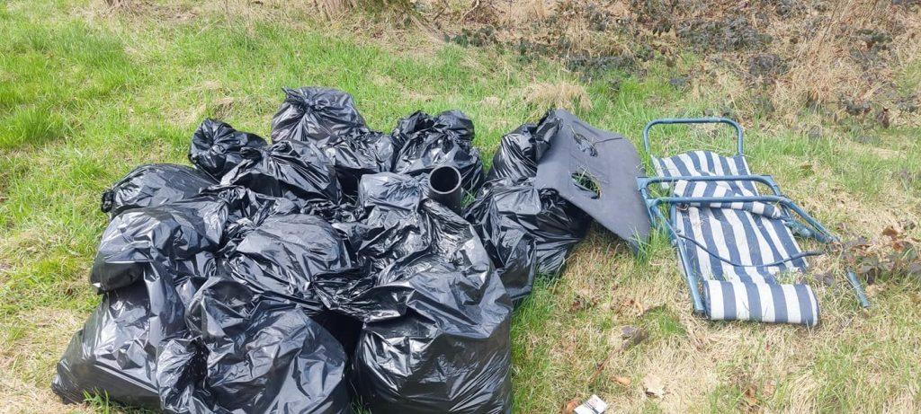 jastrzebia góra sprzątali śmieci