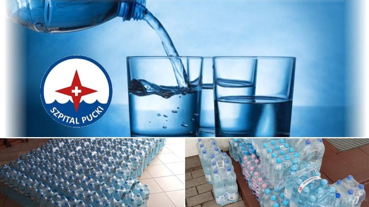 łebcz pomaga woda dla szpitala puckiego
